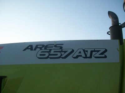 Le Claas Ares 657 ATZ à l'ensilage :)