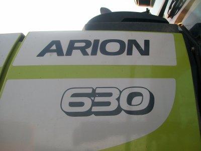L'Arion 630 à l'ensilage :)