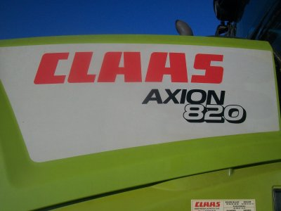 Claas Axion 820 CMATIC à l'ensilage :)
