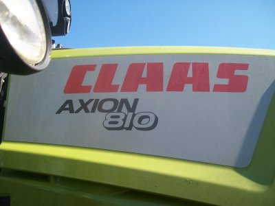 Claas Axion 810 au Tas :)