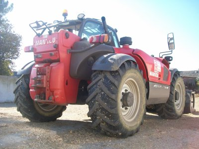 Le Manitou MLT 634 120 LSU Turbo au Tassage :)