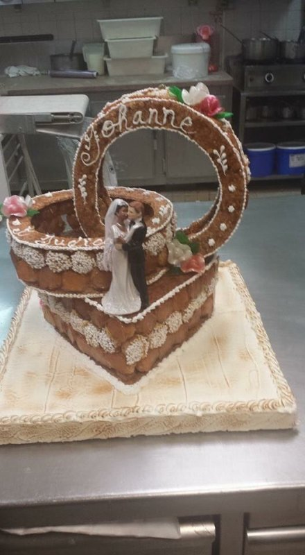 Pièces montées pour un mariage
