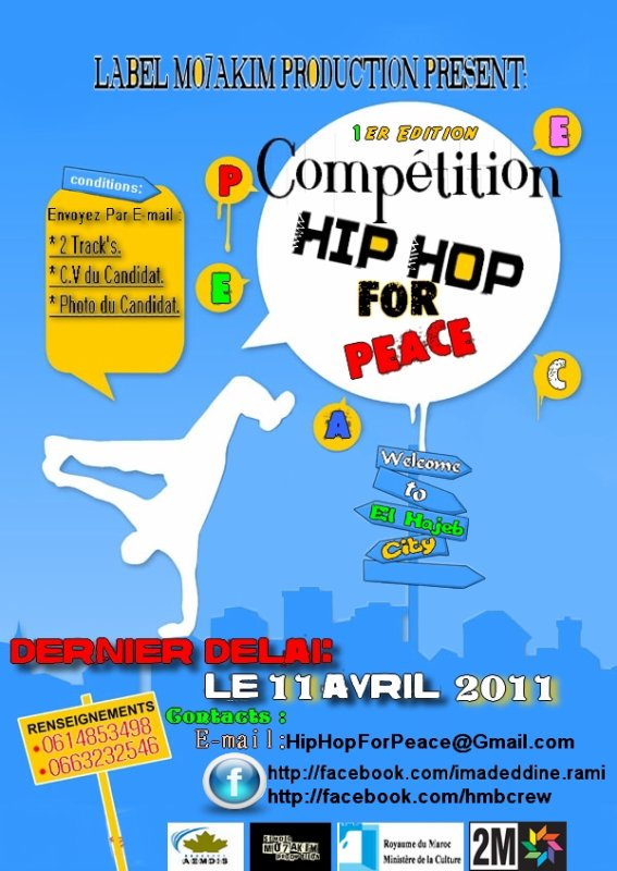 "Compétition ""Hip Hop For Peace""  1 er Edition 2011"