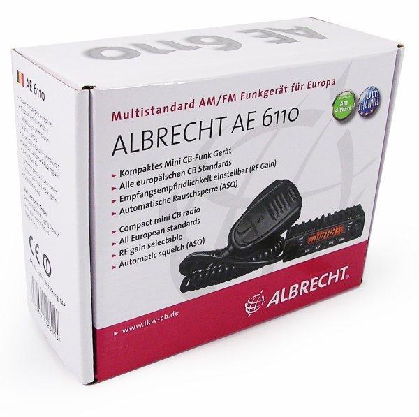 ALBRECHT - Mini-CB Funk Gerät (AE 6110)