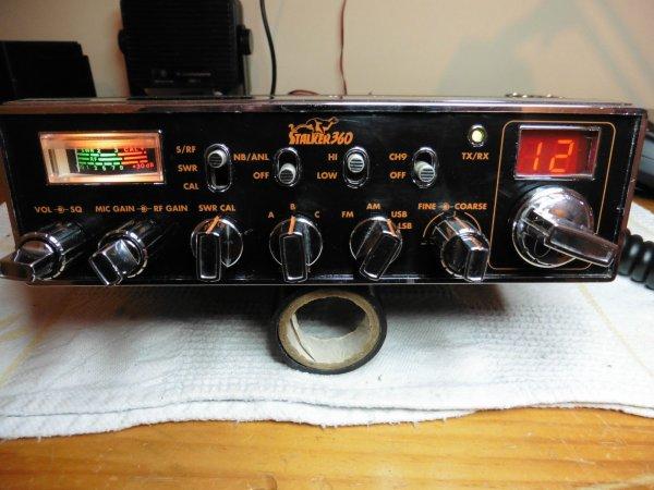 Rare stalker 360 ssb radio cb