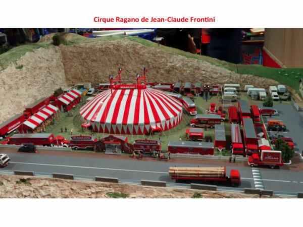 UN WE EXTRA (8): 6ème Salon de la Maquette de Cirque au Cirque d'Hiver Bouglione (26-28 Février 2016)