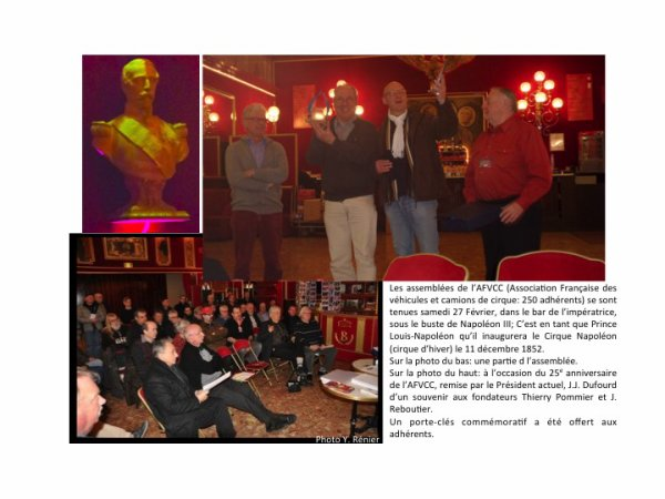 UN WE EXTRA (12): 6ème Salon de la Maquette de Cirque au Cirque d'Hiver Bouglione (26-28 Février 2016)