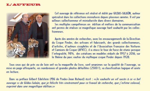 POUR LES COLLECTIONNEURS DE VEHICULES PINDER