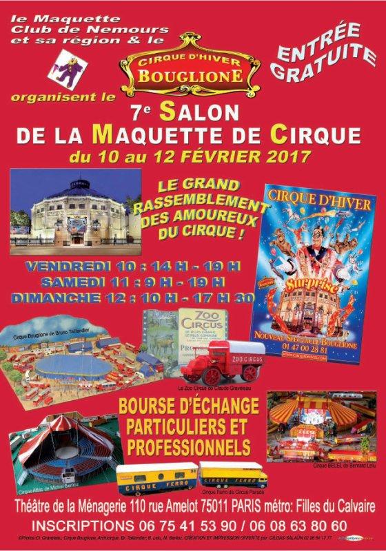 7ème Salon de la Maquette Cirque d'Hiver