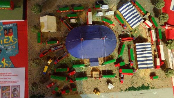 7ème Salon de la Maquette de Cirque - co-organisation Maquette club de Nemours et sa région & le CIRQUE D'HIVER BOUGLIONEd'Hiver (10)