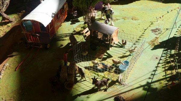 La Maquette du CIRQUE BIDON au 15e salon du modélisme organisé par le Model Air Club de l'Hérault