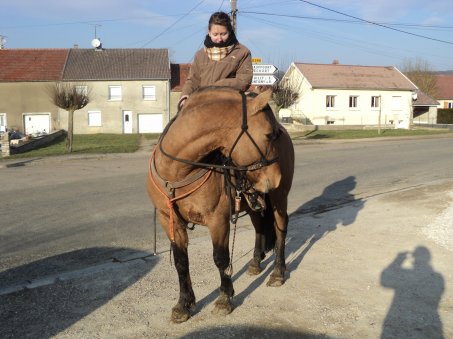 balade dans le village  (3 mars 2011)