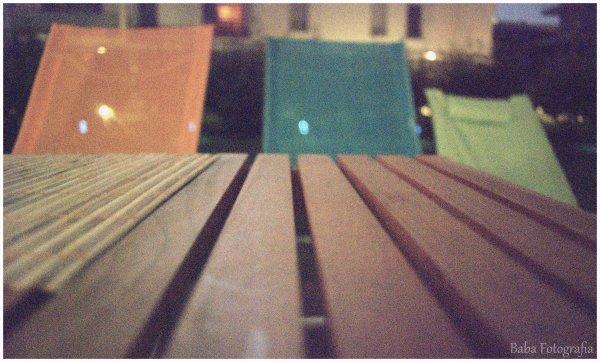 ~ Le paradis, c'est d'être assis à la terrasse un soir d'été et d'écouter le silence ~