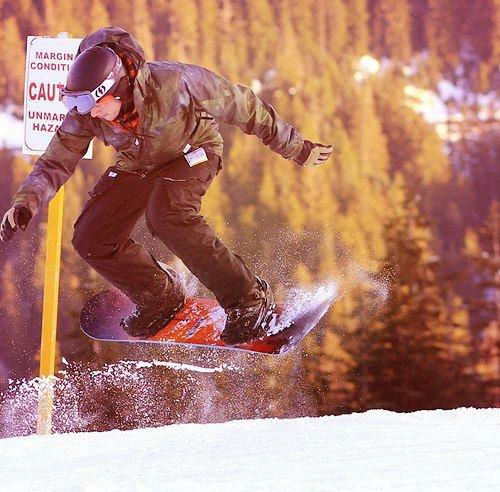 Cory qui fait du snow !!!
