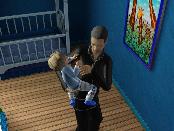 19 : G1/2/3 Papy le baby-siter pendant que les parents batiffole