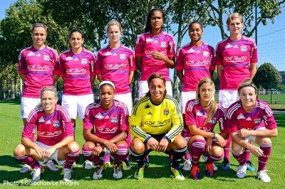 équipe 20011/2012 OL féminin