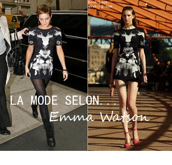 ♥Le mode Selon Emma Watson...