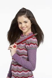Selena Gomez avec sa baguette magic