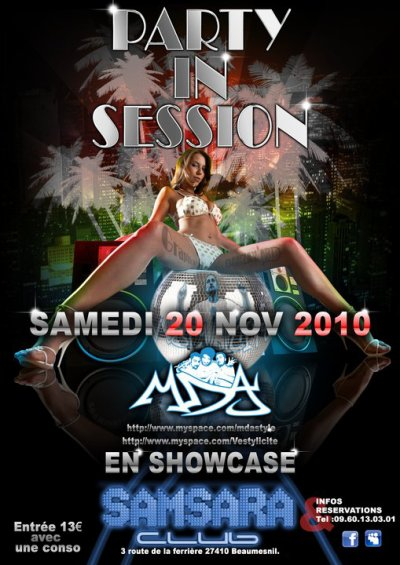 PARTY in SESiiOONNnn MDA en SHOOWWwwww live au samsara !!!!!!!!!!!!!