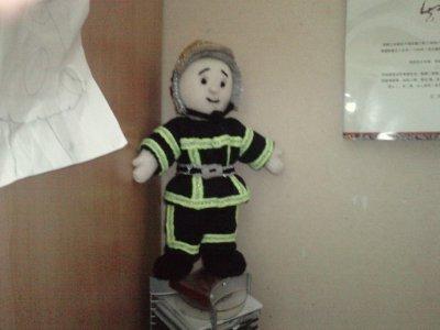 pompier  en uniforme 2010