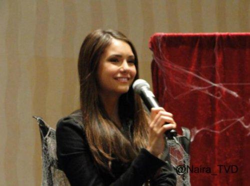 Nina lors de la convention Eyecon qui s'est déroulée à Atlanta, USA le 28 Octobre dernier