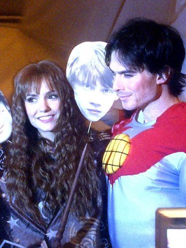 29/10/11 :  Nina lors de la soirée halloween