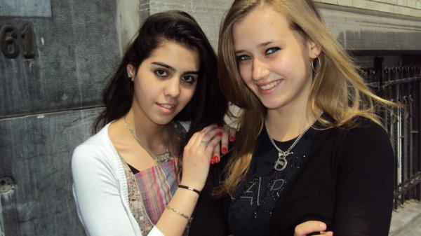 Lana et Audrey <3