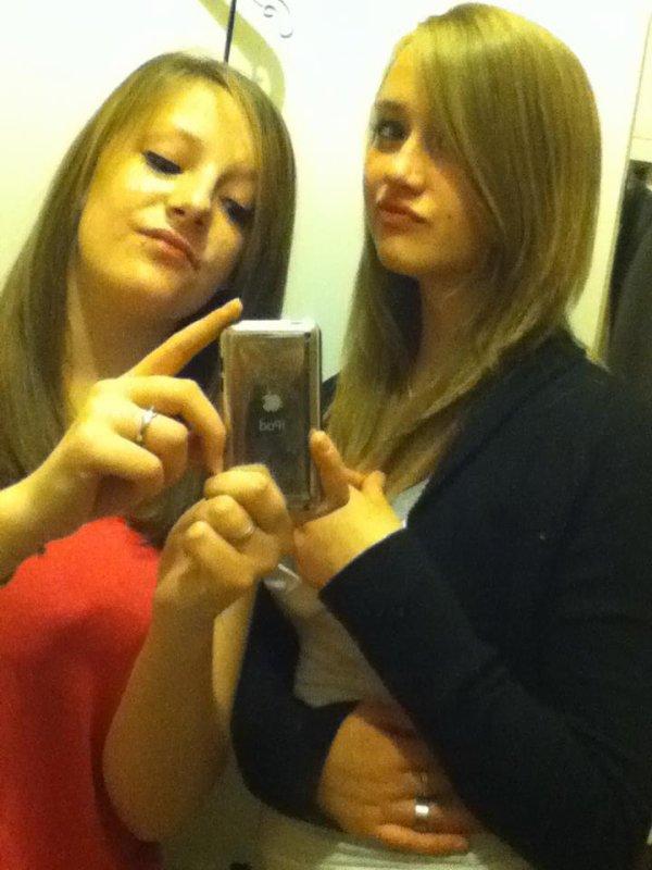 Morgane et Audrey <3