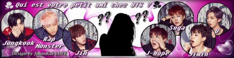 Qui est votre petit ami chez BTS ?