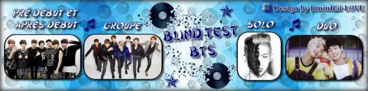 Jeu - Blind Test BTS