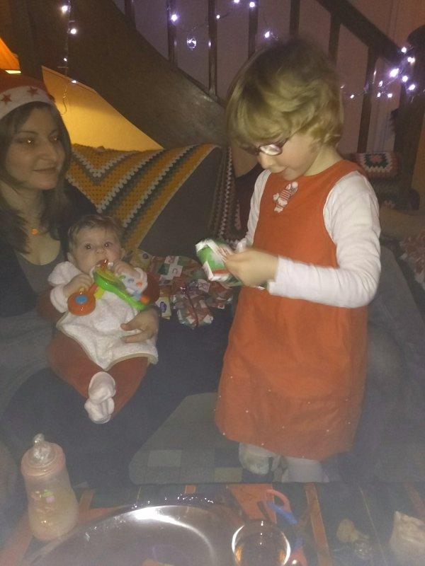Mes 3 amours en mode Noël