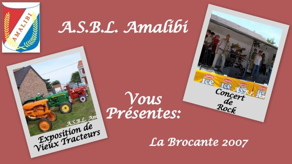 A.S.B.L.  Amalibi Brocante 2007