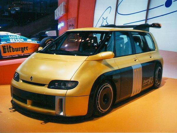 Espace F1 de Renault