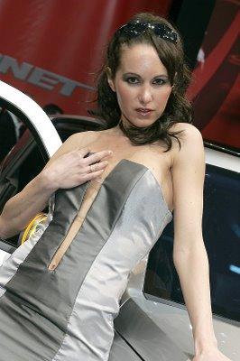 Prisca Miss Salon de Genève 2006