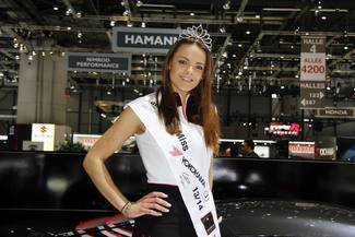 Chantal Breitinger Miss Salon de Genève 2014
