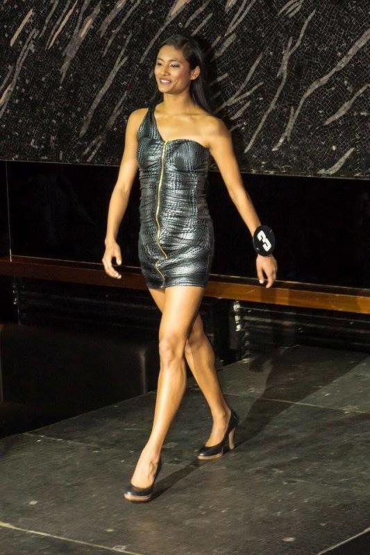 Mohana Rapin  Miss Genève 2016