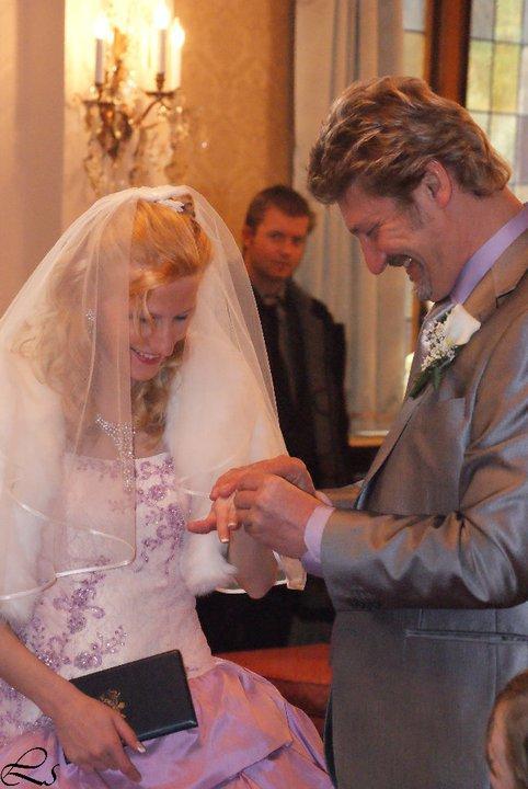 photo de notre mariage