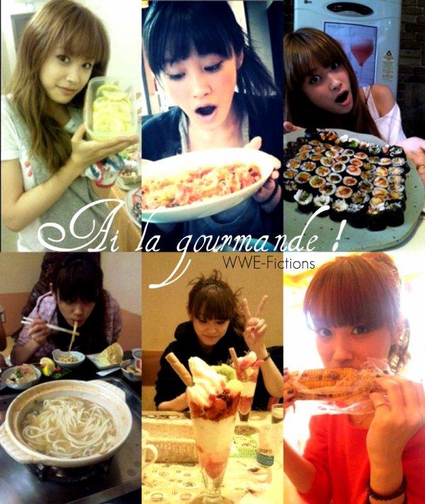 Takahashi Ai & la nourriture