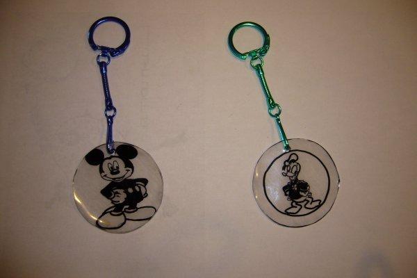 créations portes clefs