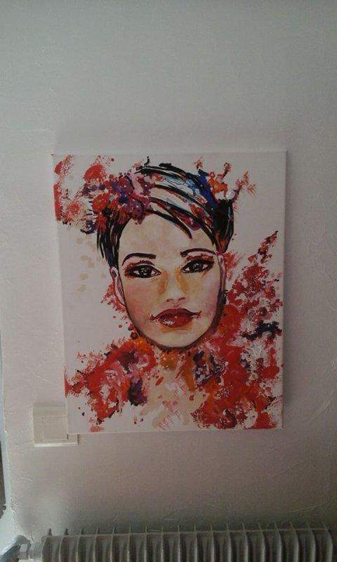 Peinture sur toile 50/70 cm