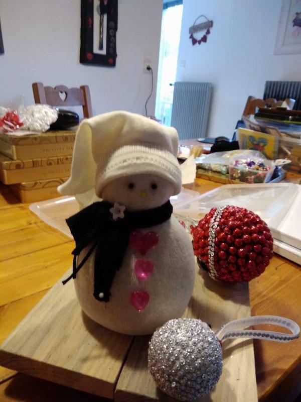 Mes créations bonhomme de neige