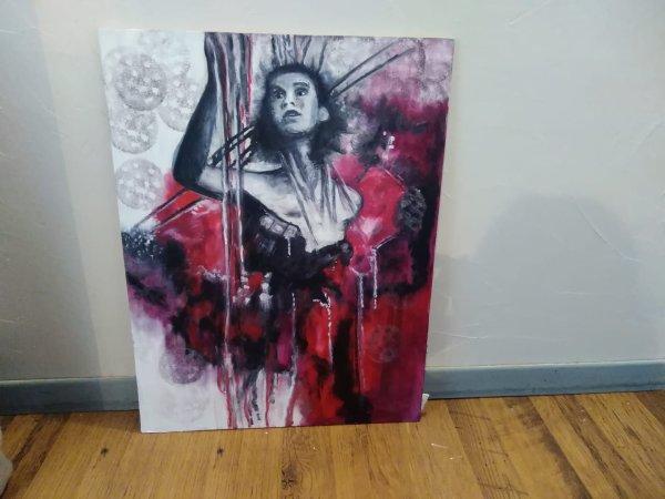 Peinture  45/65 cm