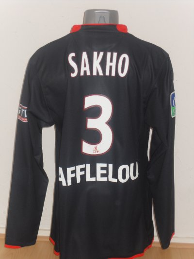 10eme Maillot : Maillot de mamadou Sakho !