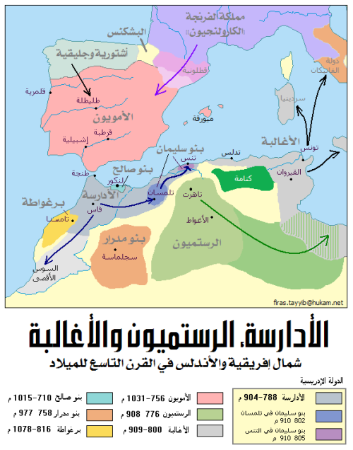 دولة الادارسة - المغرب