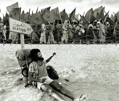 El Massira Khadera - la marche vert  - sahara Marocaine