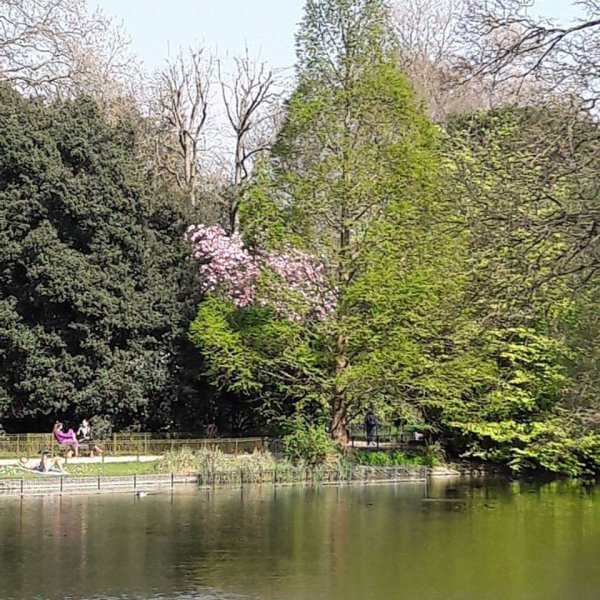 Londres regorge de beaux parcs !