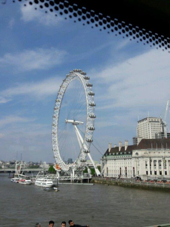 """A nouveau quelques photos de Londres avec  """"The Eye """""""