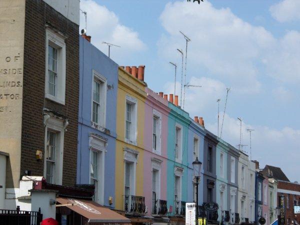 Les jolies maisons de Londres