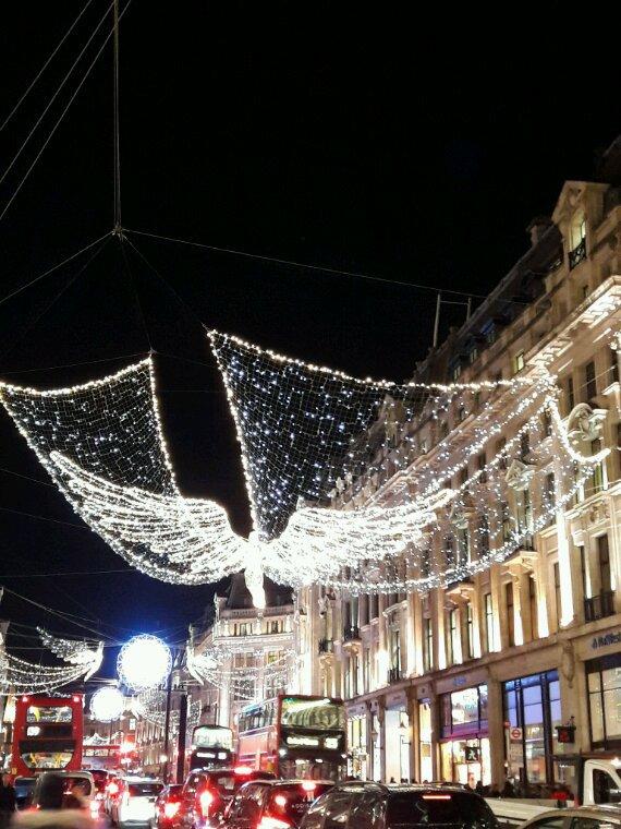 Décos Noël à Londres