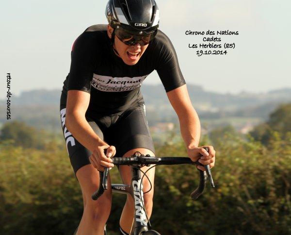 Chrono des Nations Cadets Les Herbiers (85) 9.10.2014